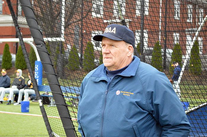 Five-sport official Harry Kaskey