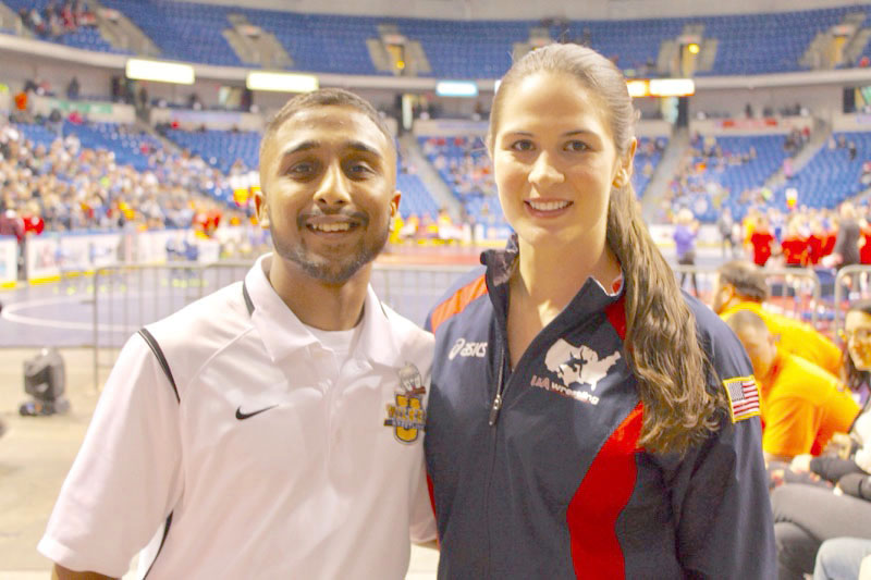 Pankil Chander invited United States Olympian Adeline Gray to the tournament.