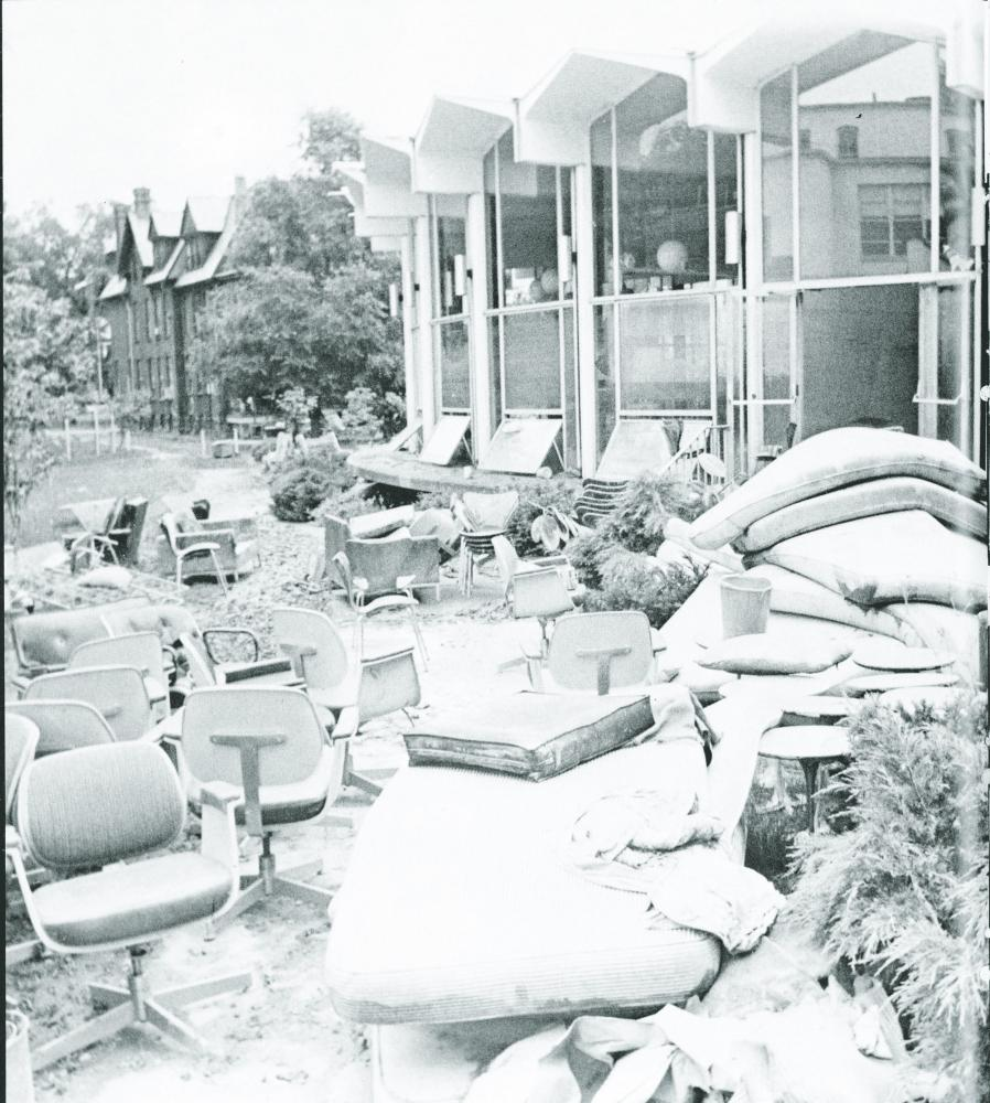Wilkes University in 1972 after Hurricane Agnes, which brought historic flooding to the area, leading to more than $2.8 billions in damage.