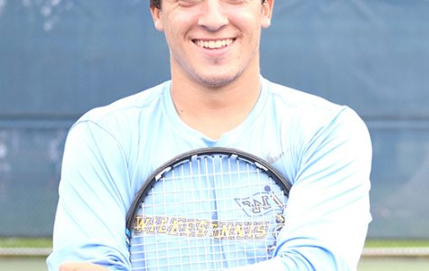 AOTW: Chris Maderitz, sophomore tennis player