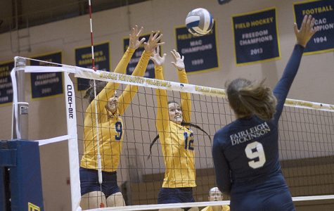 Wilkes Women's volleyball set more personal records