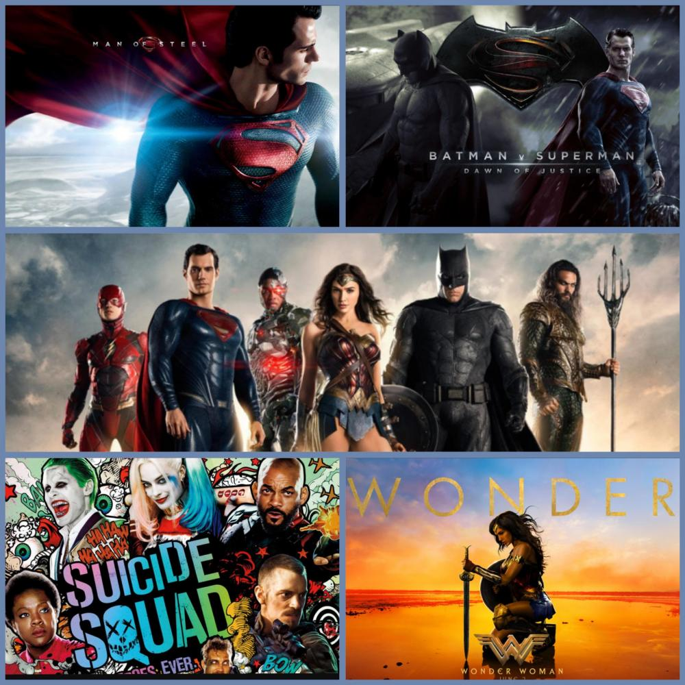 """DC Comics """"Extended Universe"""": Road to the Justice League"""