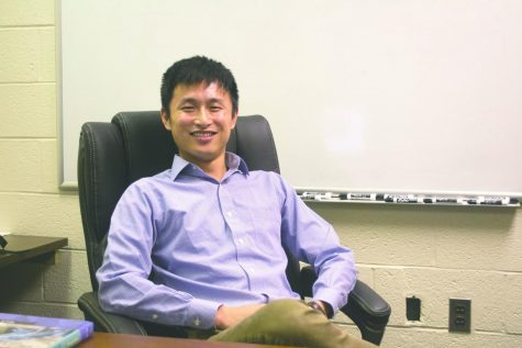 Profile of a new professor: Dr. Xin Luo
