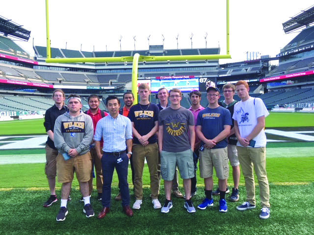 The Sport Management club visited Philadelphia in order to learn more about how to organize events, and to gain networking experience.