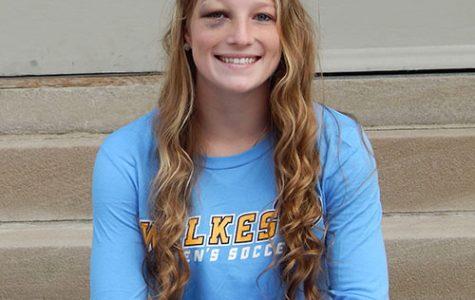 AOTW: Elise Brubaker, freshman soccer player