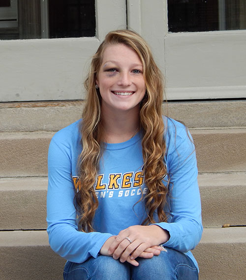 Elise Brubaker Freshman Soccer Player