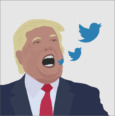 President Donald Trump and Twitter: students, faculty weigh in