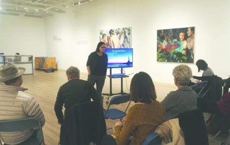 Sordoni Art Gallery holds first 'Art in Context' lunchtime lecture