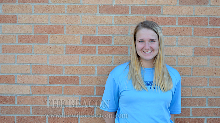 Gracen Staunton, sophomore softball player
