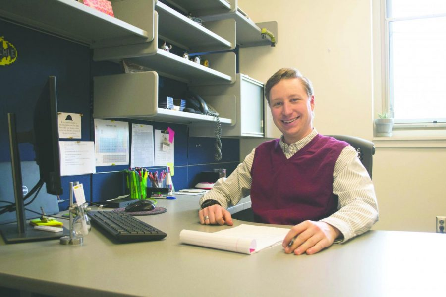 Profile of a new professor: Dr. Joshua M. Blechle, Chemistry