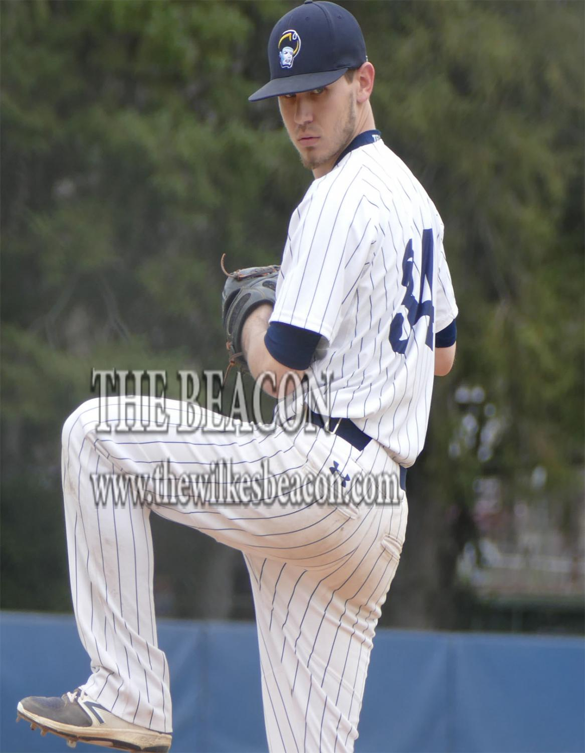 Pitcher Matt Amaral