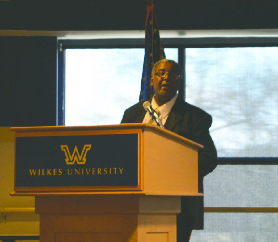 Ron Felton, current NAACP Eastern Sectional Director, spoke at the event.