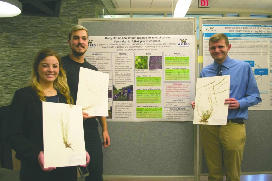 From left: Amber Grohowski, Scott Heffelfinger, Michael Kovalick