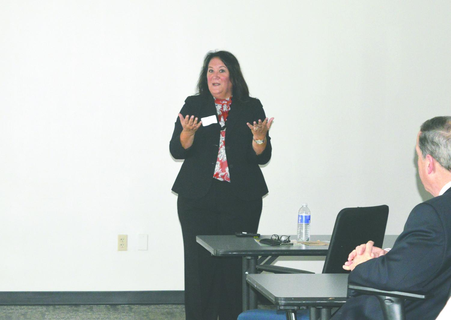 Kimberly Wylam, of the Family Business Alliance, discussed the building of a successful sexual harassment policy in the workplace.