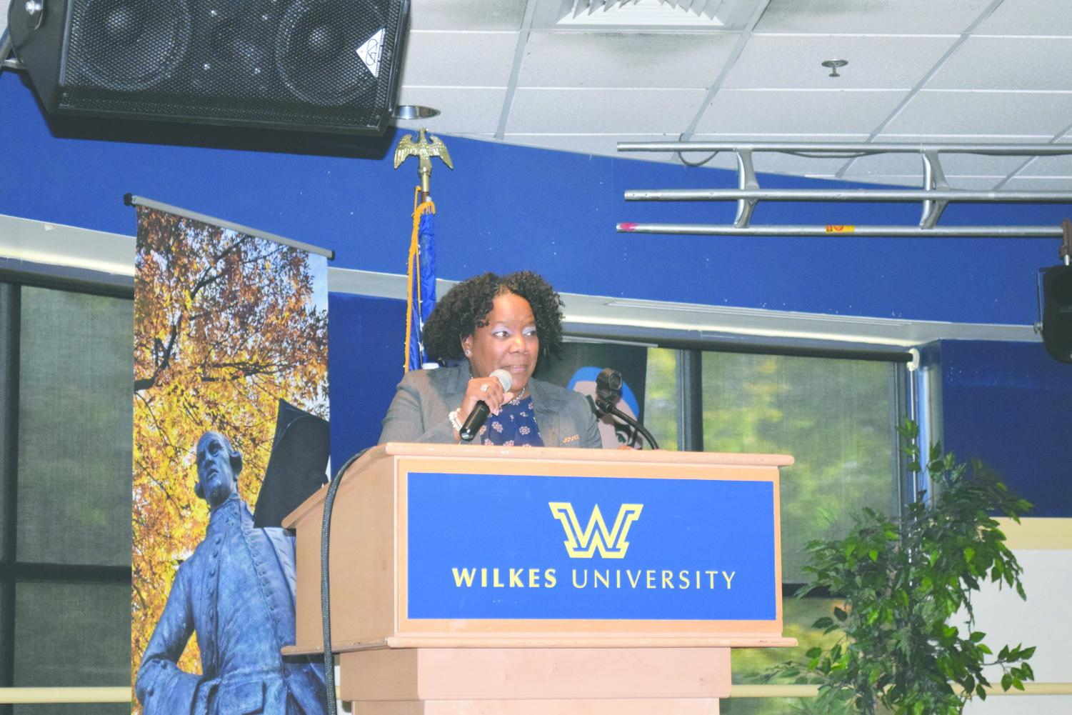 Dr. Vicki Sapp, the keynote speaker, spoke about how she overcame her own unconscious bias.