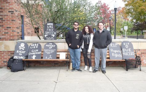 Local Young Americans for Liberty hold demonstration on campus
