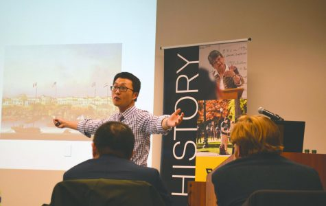 Dr. Yanqui Zheng discusses the Chinese trade war at lecture