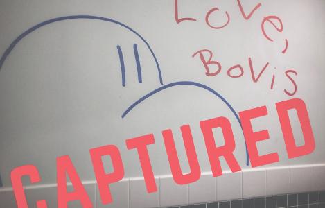 Public Safety campus safety initiatives, 'Bovis' graffiti artist identified internally