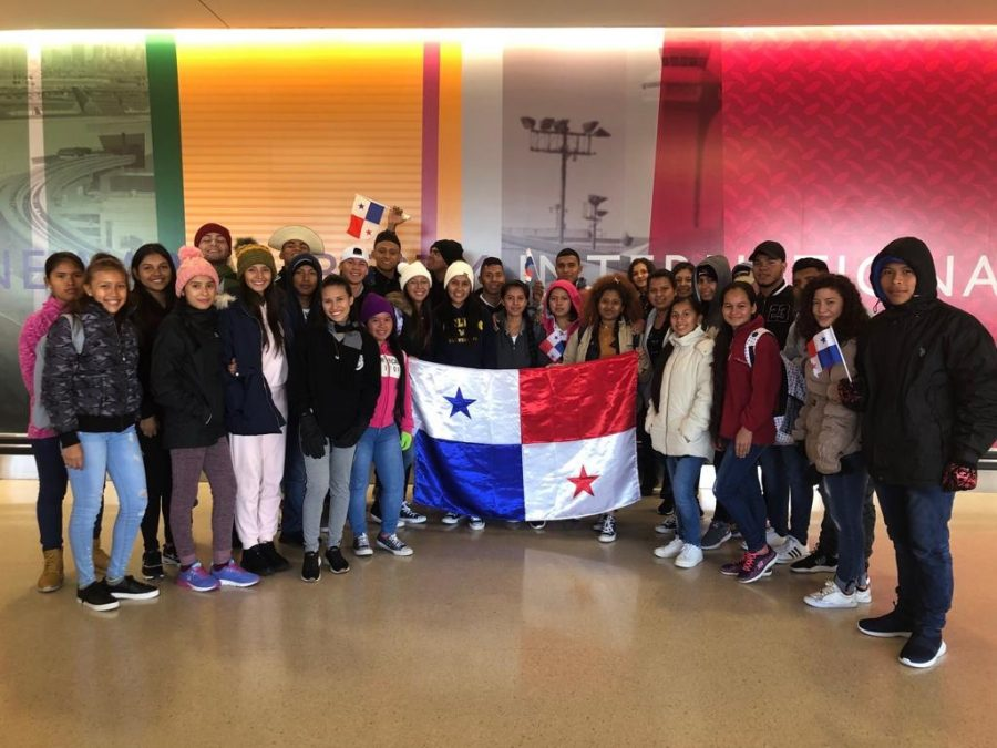 Campus welcomes 32 Panamanian students