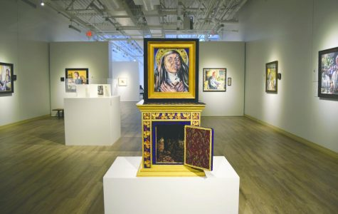 Sordoni holds artist lecture for 'Sacred Sisters'