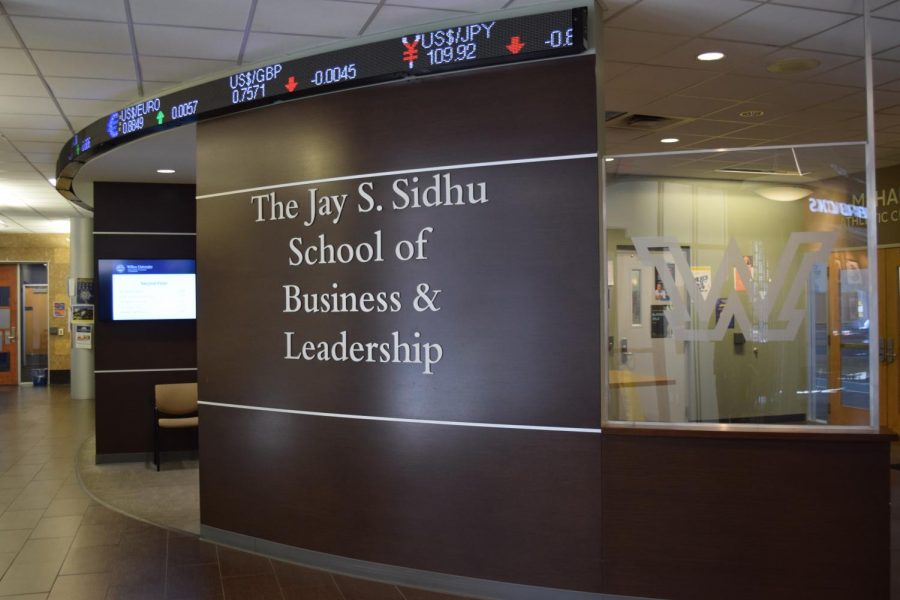 The new program will allow students in the Sidhu business school to become ambassadors of the Barron's brand.