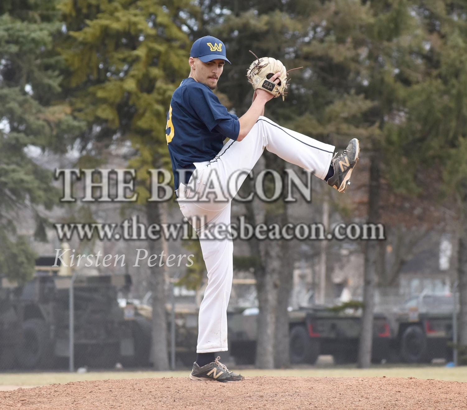 Freshman pitcher JT Hibschman secured the second victory of his young collegiate career with a 4-3 win over DeSales, following a 6-0 win over Eastern last week.