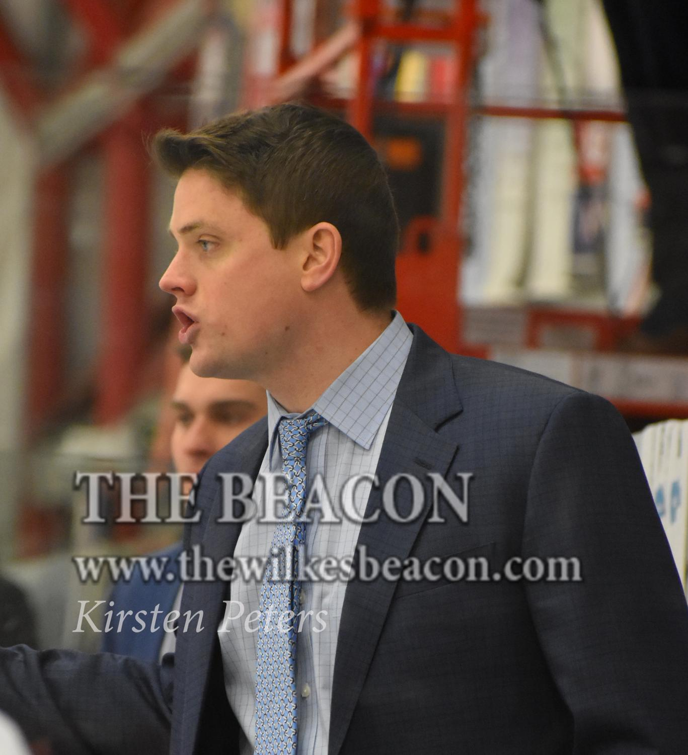 Head coach Brett Riley (pictured above) will depart Wilkes University and begin an assistant coaching job at Colgate University for the 2019-2020 season.