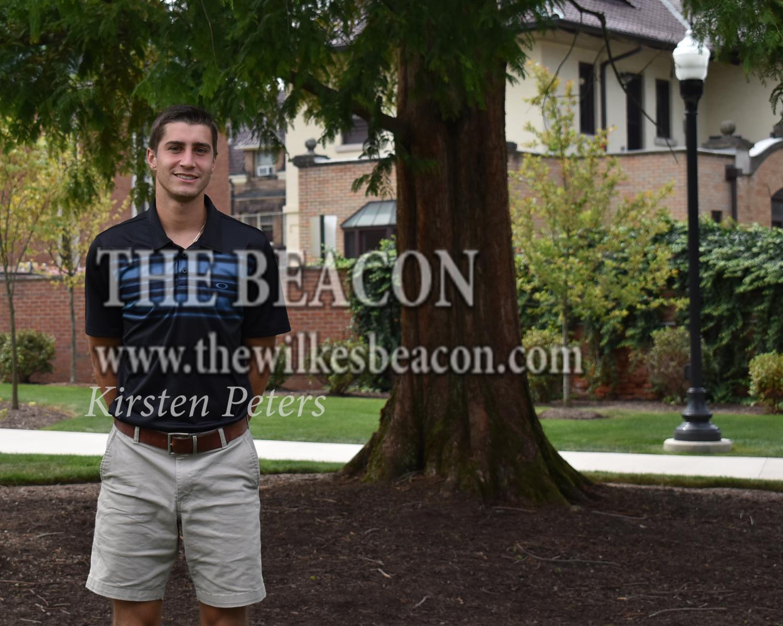 Male Athlete of the Week: Kyle Bentz, senior soccer player