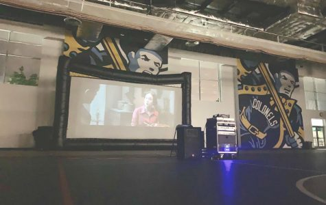 Residence hall council holds movie night for Wilkes students
