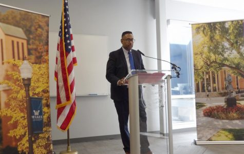 Dr. Leon John Jr., director of alumni engagement at East Stroudsburg University, discussed his experiences with diversity.
