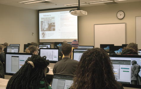 The Anna Julia Cooper Transcribe-a-Thon had over 30 participants from faculty, staff and students.