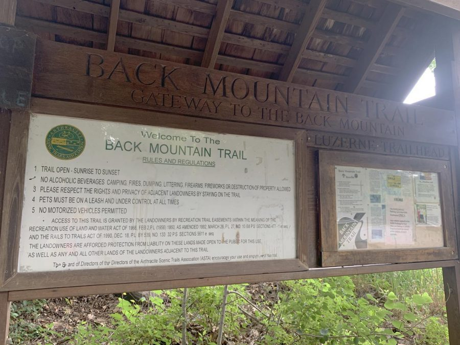 The Back Mountain Trail, located at 97 Parry St., spans from Luzerne to Dallas, Pa.