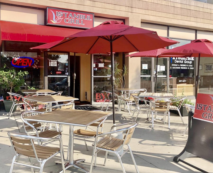 Instanbul Grill, among other locations, has reopened and is offering outdoor seating.