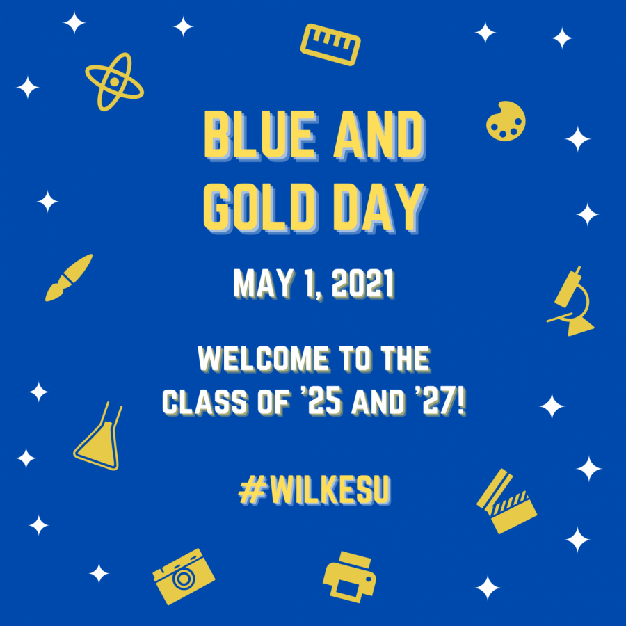 Current and incoming Wilkes students are encouraged to celebrate Blue and Gold Day on Saturday, May 1 for National Decision Day.