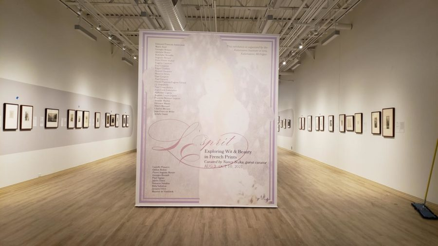 Latest Sordoni Gallery exhibit explores French art and culture